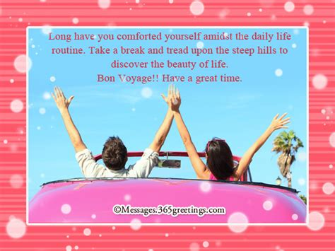bon voyage meaning bon voyage messages and greetings 365greetings com
