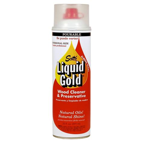 scott s liquid gold 20 oz pourable wood cleaner and preservative 10120 the home depot