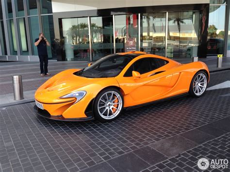 orange mclaren orange mclaren p1 spotted in dubai autoevolution