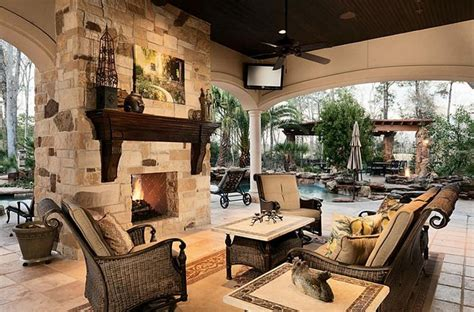 outdoor living room outdoor living room with double sided fireplace