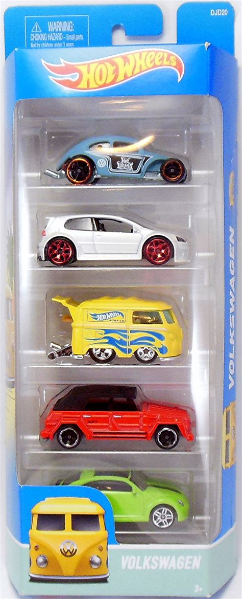 Wheels Volkswagen Set Gift Pack 2016 5 packs wheels newsletter