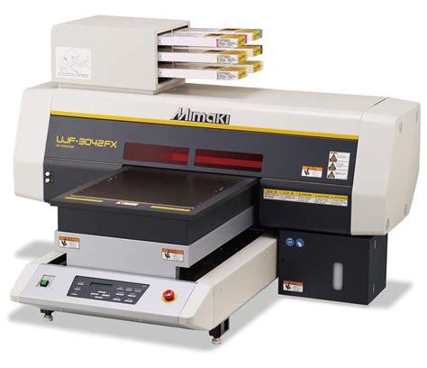 Printer Uv Mimaki ujf 3042 desktop size uv led flatbed printer