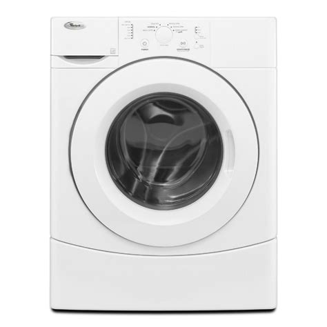 whirlpool front load washer shop whirlpool 3 5 cu ft front load washer white energy at lowes