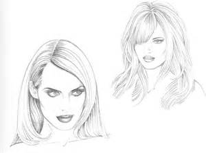 pencil drawing of hair styles of types of hairstyle figure drawing martel fashion
