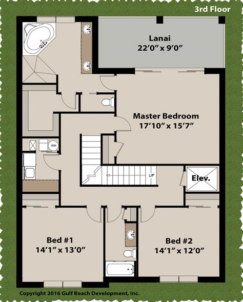 Floor Plans Florida by Island Key Florida House Plan Gast Homes