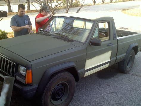green zombie jeep ebay find of the day jeep comanche zombie response unit