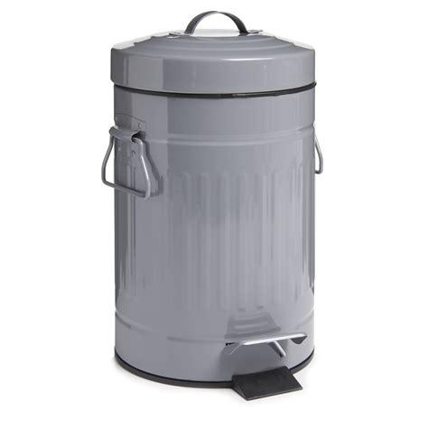 retro bathroom bin wilko retro bin grey at wilko com