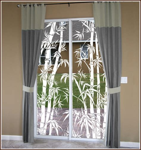 Window Decorative by Tropical Etched Glass Window Design Big Bamboo See