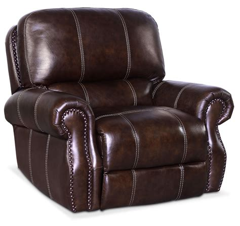 chocolate recliner dartmouth power recliner chocolate value city furniture