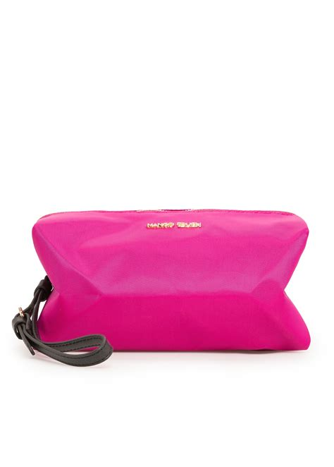 Benefit I Pink I You Bag mango cosmetic bag in pink lyst