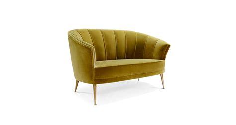 modern 2 seater sofa 2 seater mid century modern furniture by brabbu