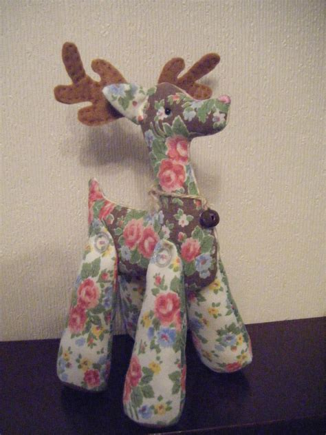 Pattern For Fabric Reindeer | 17 best images about animal patterns on pinterest sewing