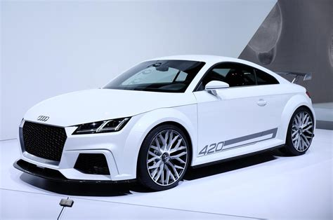 Audi Tt Sport by 420 Hp Audi Tt Quattro Sport Concept Shown At Geneva
