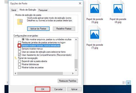 windows 10 no muestra imagenes en miniatura como voltar a ver miniaturas de fotos no windows 10