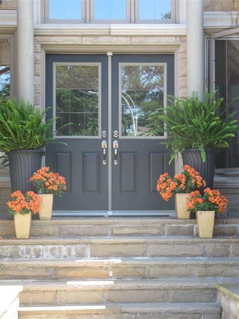 white swan homes  gardens front entrance doors