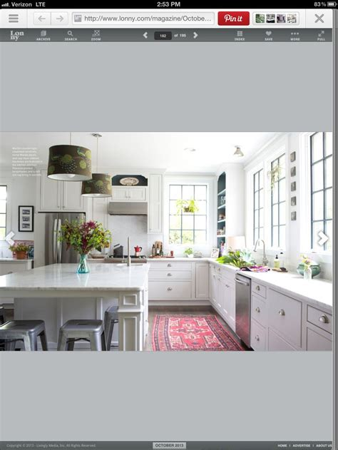 White Kitchen Lots Of Windows Kitchens Pinterest Kitchens With Lots Of Windows