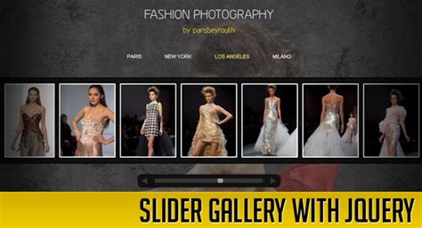 tutorial jquery image gallery slider gallery with jquery