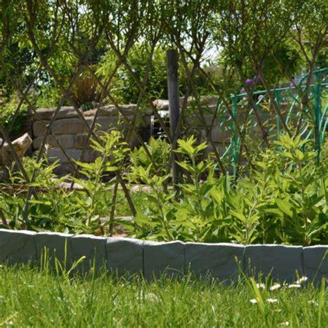 bordure de jardin en bordure de jardin imitation