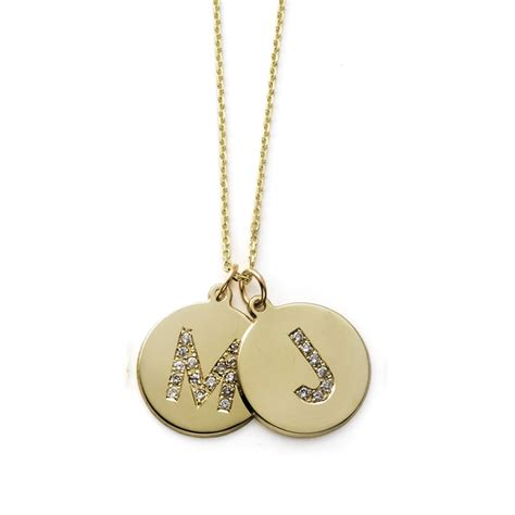 where to buy chains for jewelry personalized initial pendant