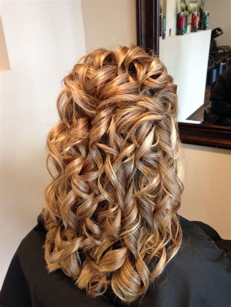curly partial up how 26 best partial updos images on pinterest wedding hair