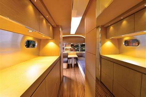 Airstream Interior Design by Airstream S Land Yacht Has New Look For Rvs Rv Business