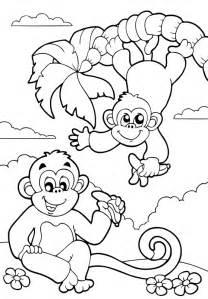 Ausmalbilder Dschungel  Kostenlos Bilder Zum Ausmalen sketch template