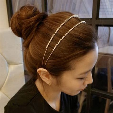 korea imported princess tiara headband shiny