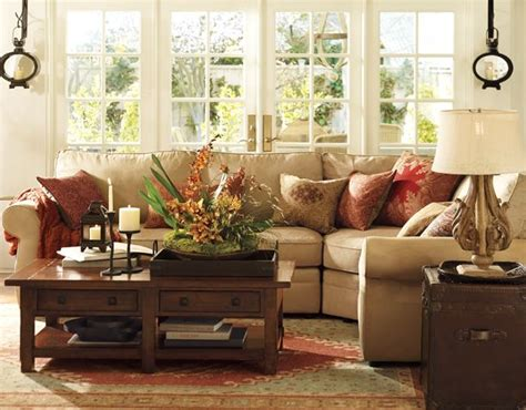 Pottery Barn Living Room Decorating Ideas by Pottery Barn Pinpoint