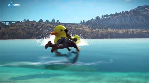 duck boat just cause 3 just cause 3 rubber duck boat easter egg youtube