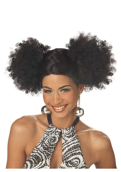 hair styles of black woman from the 1970 1970s negro hair black disco puffs wig natural hair