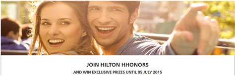 Sweepstakes Uk - hilton hhonors uk sweepstakes for new old accounts register by july 5 2015