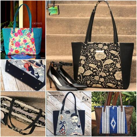everyday tote bag pattern the 423 best images about to do bags on pinterest tote