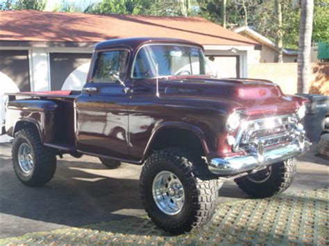 1957 Chevy Pick up Chevrolet Chevy Trucks for Sale