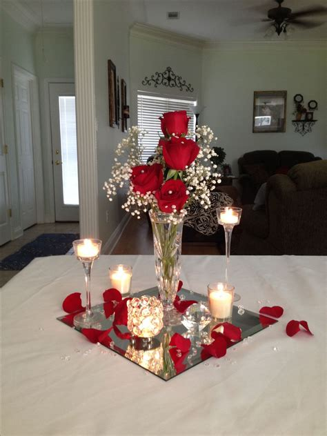 Link Score With This Bowl Centerpiece by Fish Bowl Mirror Wedding Centerpieces Wedding