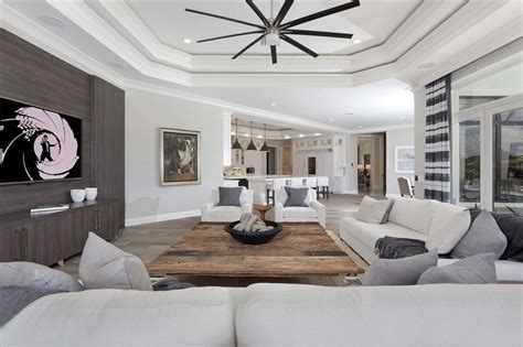 modern living room ceiling fan living room ceiling fan contemporary living room with