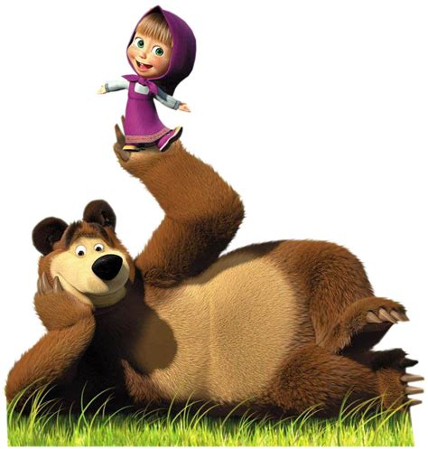 masha i medved masha and the bear giant youtube masha voices from russia