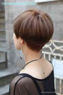 pictures of the back of a wedge hair cut wedge haircut back view photos all new hairstyles