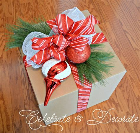 diy christmas decorations with boxes celebrate decorate