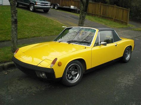 porsche 914 yellow bigelan 1974 porsche 914 specs photos modification info