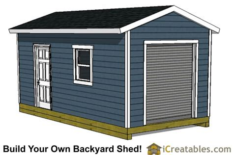 10 X 20 Shed With Floor - 10x20 shed plans free 10x20 shed plans with garage door