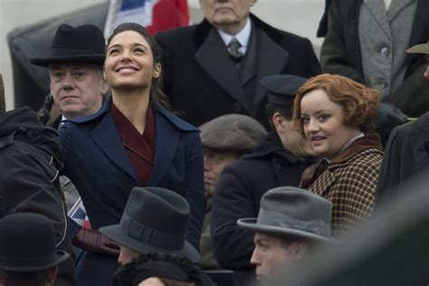 lucy davis as etta candy new wonder woman set images offer first look at lucy davis