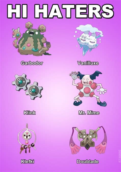 themes team names 8 themed pokemon teams dorkly post