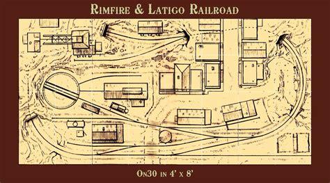 g scale bedroom layout rimfire latigo railroad on30 4x8 by thundermesa mining