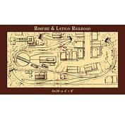 Rimfire &amp Latigo Railroad  On30 4x8 By Thundermesa Mining