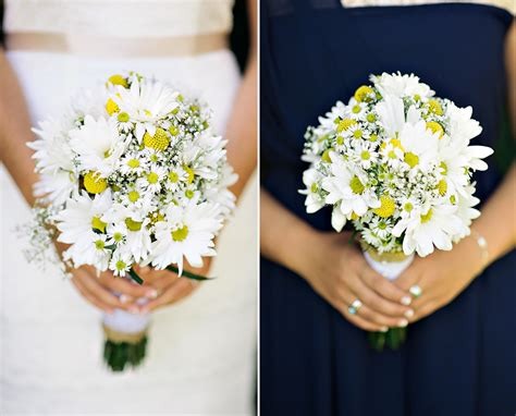Wedding Bouquet Of Daisies by A Diy Vintage Americana Wedding In New Jersey Inspired By