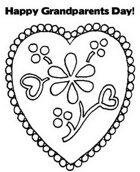 Grandparents Day Coloring Pages To Print And Color Grandparents Day Coloring Pages