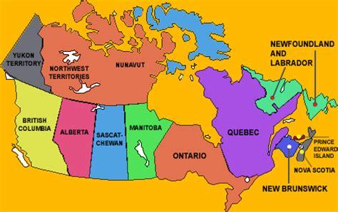 map of canada for students derietlandenexposities