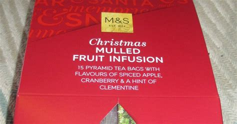 Detox Infusion Marks And Spencer by Foodstuff Finds Mulled Fruit Infusion Tea