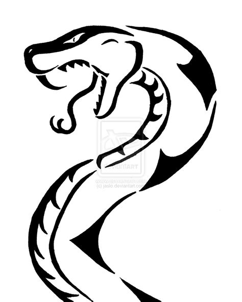 snake tribal tattoos tribal snake 1 by jaslo on deviantart