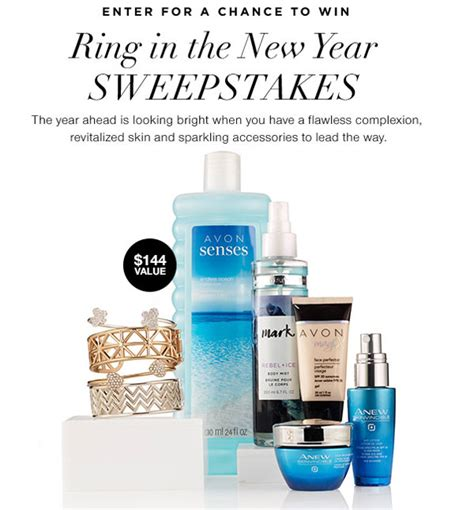 New Year Sweepstakes - avon beauty products archives beauty makeup and more